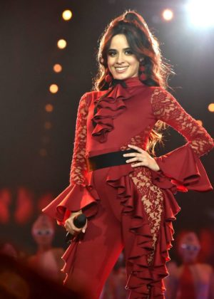 Camila Cabello - Performs at 2017 MTV Europe Music Awards in London