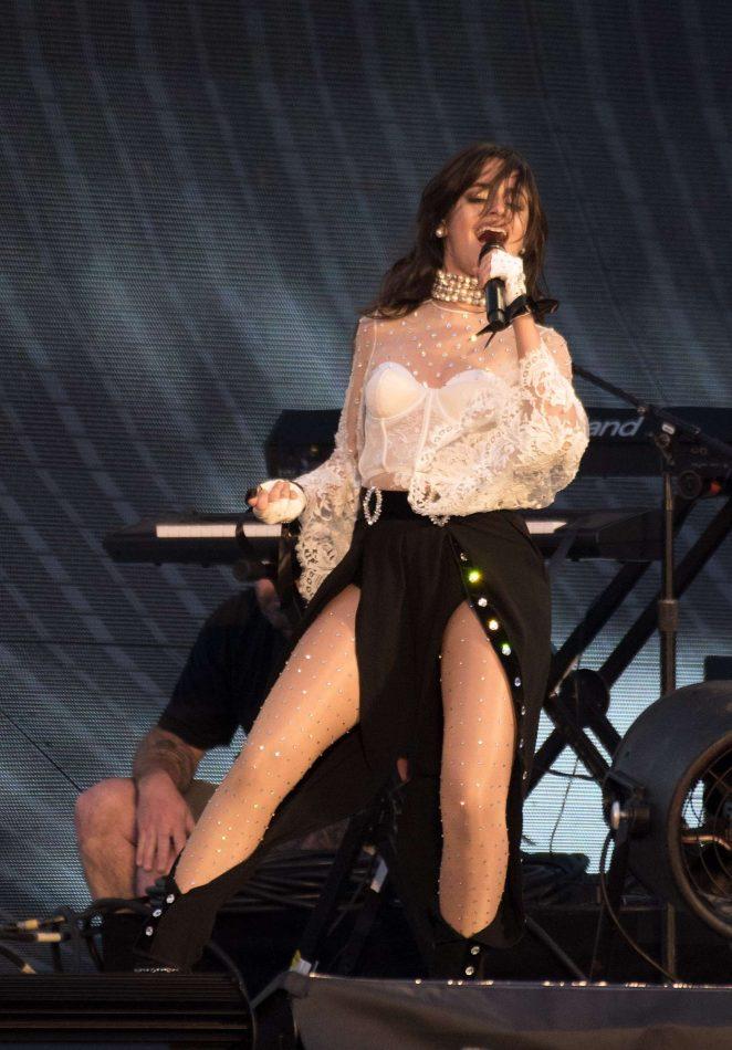 Camila Cabello - Performs at Levi's Stadium in Santa Clara