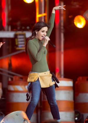 Camila Cabello - Performs on 'Jimmy Kimmel Live' in LA