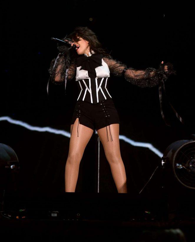 Camila Cabello - Performs Taylor Swift Reputation Stadium Tour in Arlington