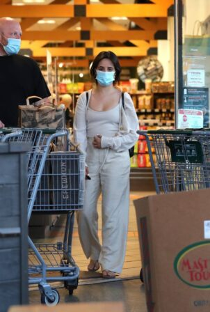 Camila Cabello - Shopping candids at Erewhon Market in West Hollywood