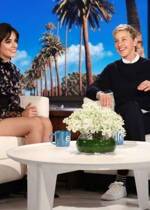 Camila Cabello - The Ellen DeGeneres Show in LA