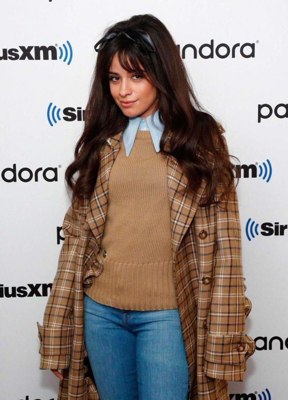Camila Cabello - Visits SiriusXM Studios in New York City