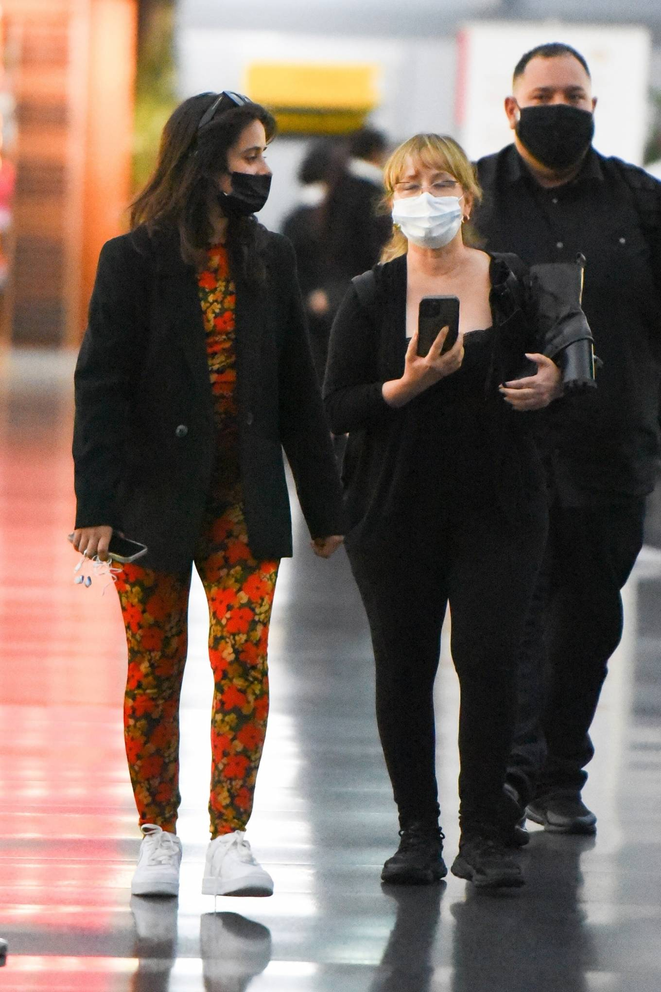 Camila Cabello 2021 : Camila Cabello – With Shawn Mendes seen at JFK Airport in New York City-01