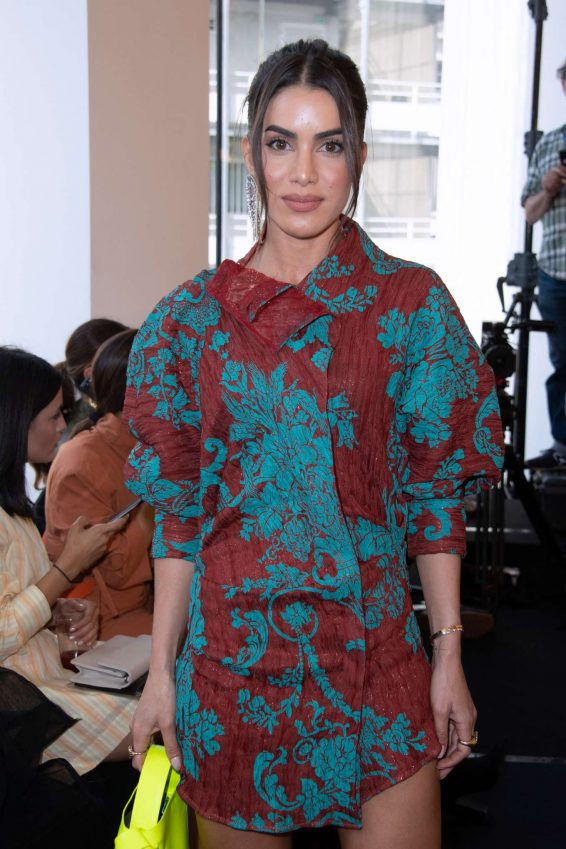 Camila Coelho - Acne Fashion Show at Paris Haute Couture Fall/Winter 2019/2020 in Paris