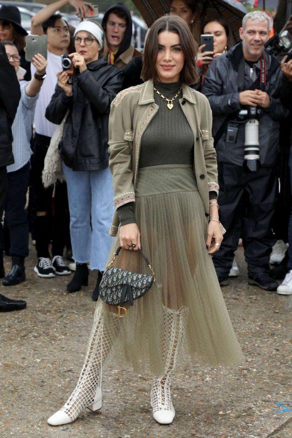 Camila Coelho - Arrives at Christian Dior Womenswear SS 2020 in Paris