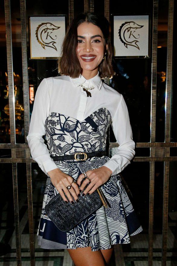 Camila Coelho - Dior Beauty Dinner SS 2020 at Paris Fashion Week