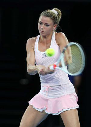 Camila Giorgi - 2018 Australian Open in Melbourne - Day 4