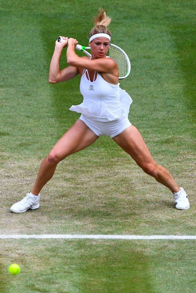 Camila Giorgi - 2018 Wimbledon Tennis Championships in London Day 8