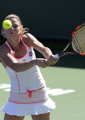 Camila Giorgi Bnp Paribas Open 2016 In Indian Wells