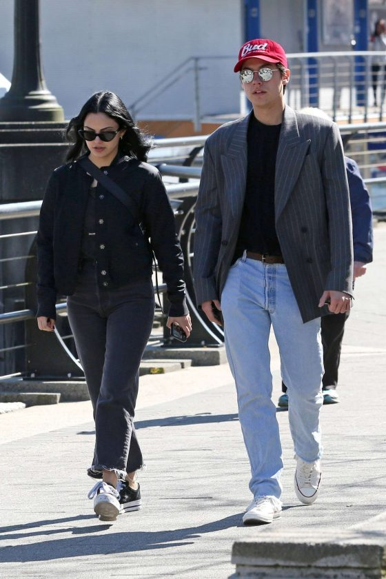 Camila Mendes and Cole Sprouse: Out at Stanley Park -02