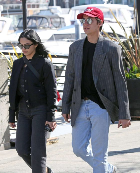 Camila Mendes and Cole Sprouse: Out at Stanley Park -05