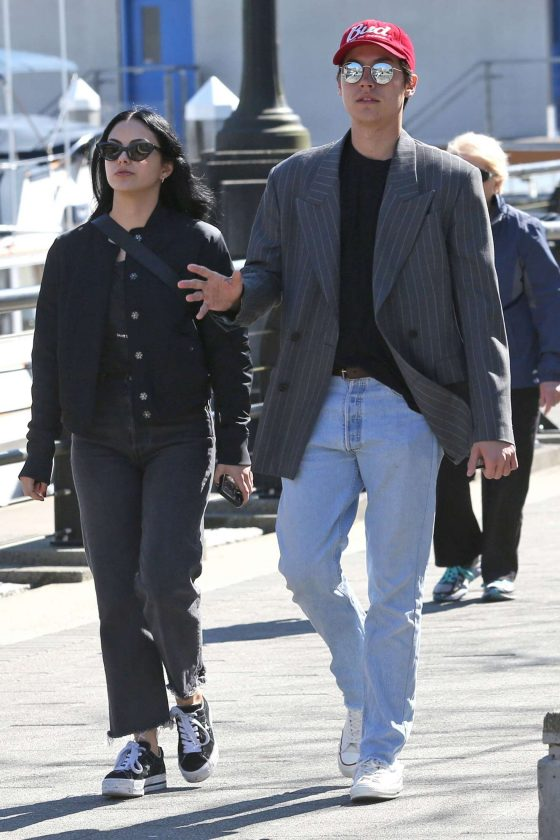 Camila Mendes and Cole Sprouse: Out at Stanley Park -06