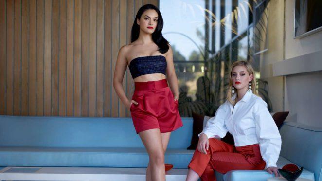 Camila Mendes and Lili Reinhart – CBS Watch! Magazine 2018