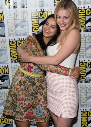 Camila Mendes and Lili Reinhart - Riverdale Panel at Comic-Con 2017