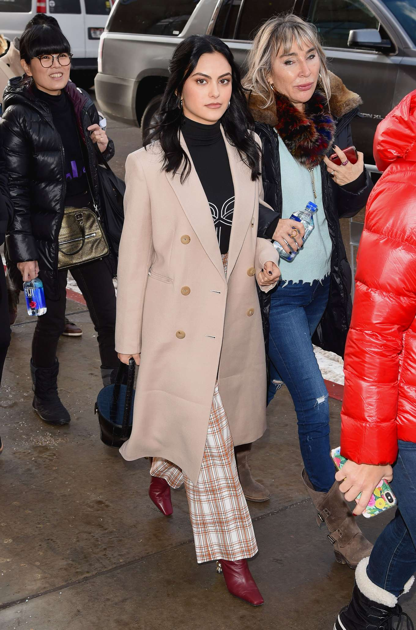 Camila Mendes - Around at Sundance Film Festival in Park City