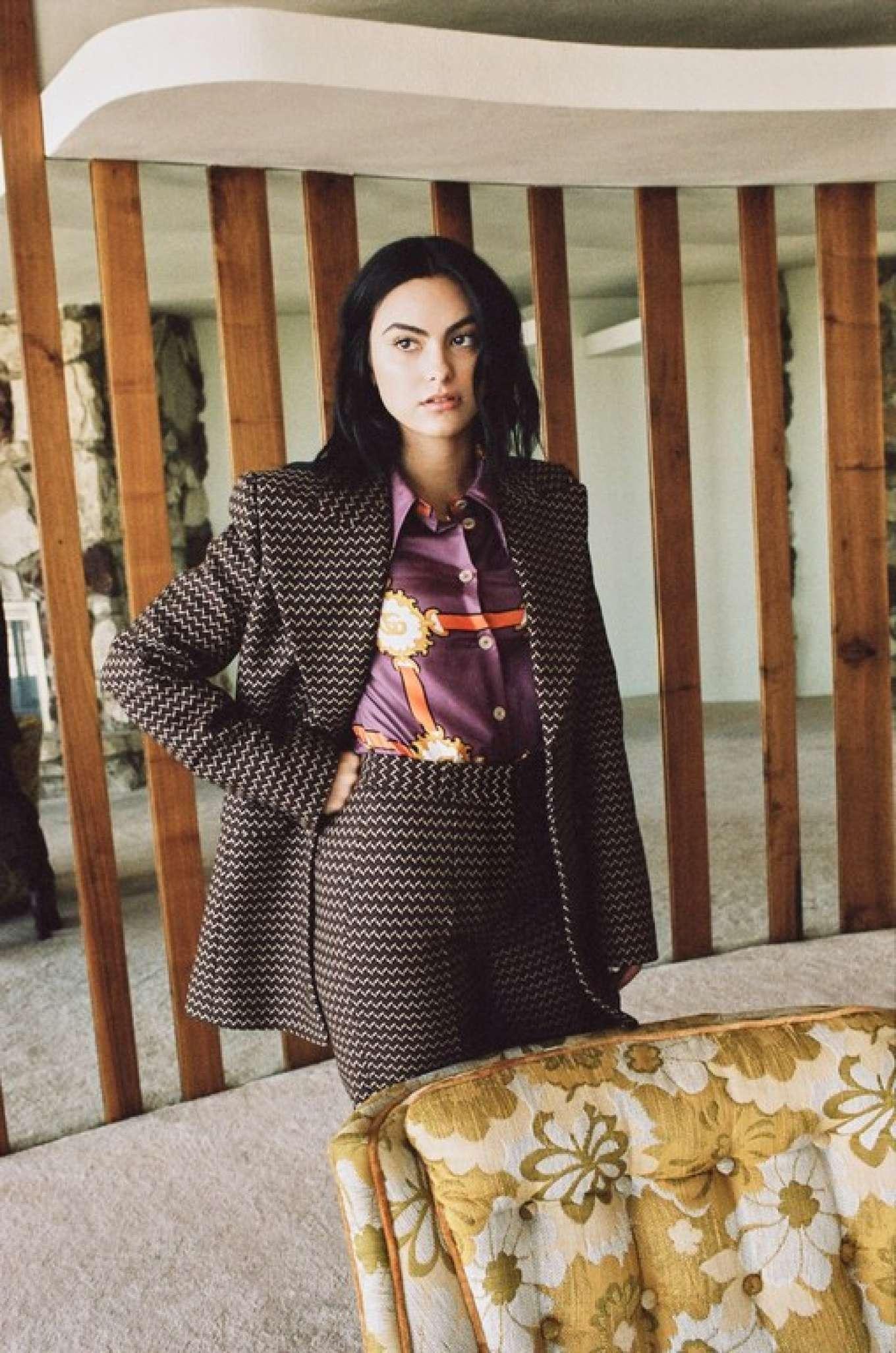 Camila Mendes for InStyle Mexico Magazine (November 2019)