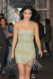 Camila Mendes in Mini Dress - Out in New York