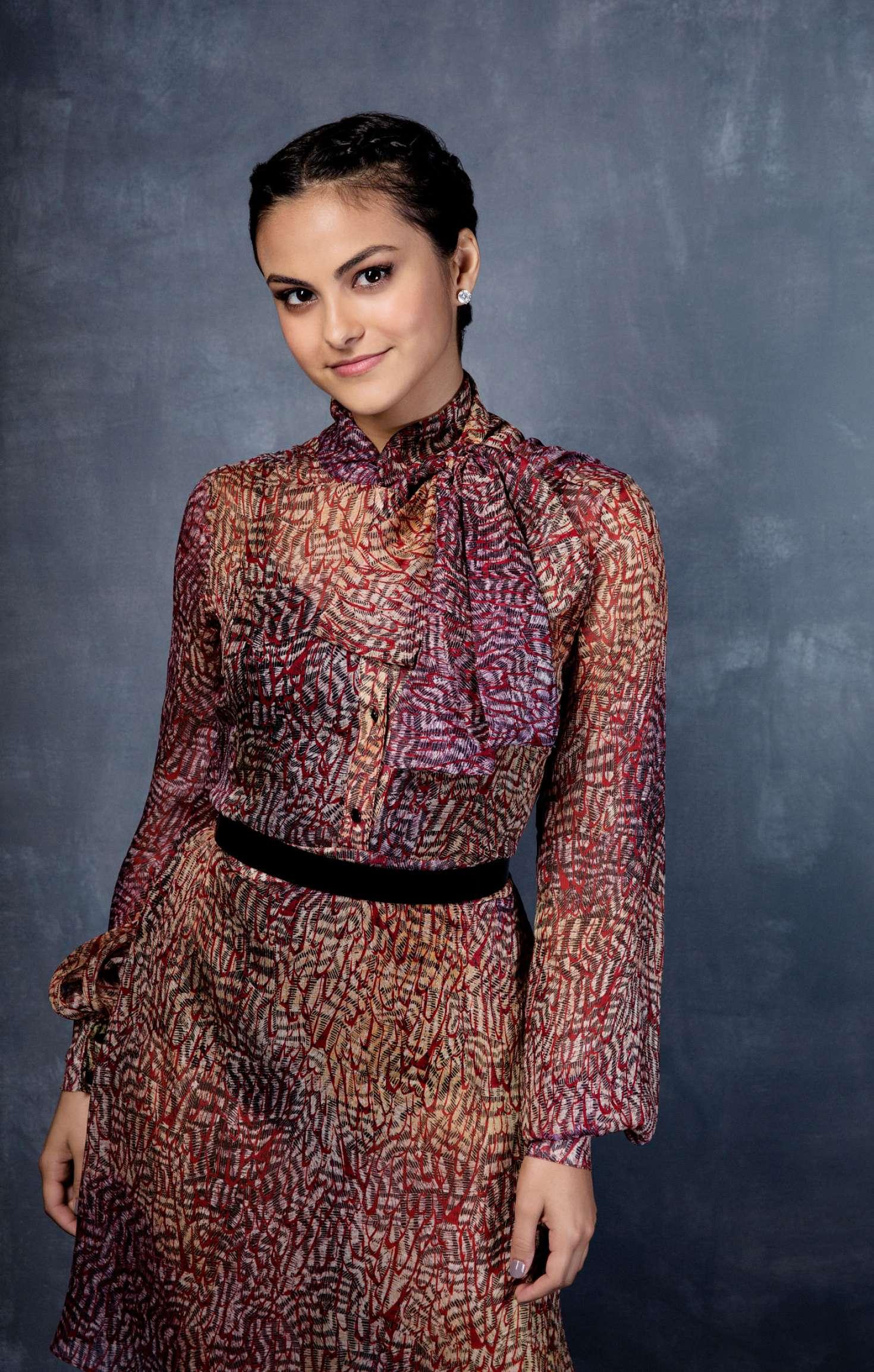 Camila Mendes - Los Angeles Times Comic-Con Portraits by ... Vanessa Hudgens Boyfriend