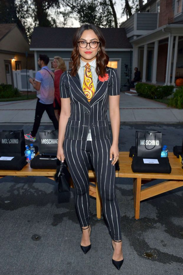 Camila Mendes - Moschino Spring Summer 2019 in Universal City