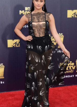 Camila Mendes - MTV Movie and TV Awards 2018 in Santa Monica