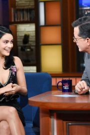 Camila Mendes - On The Late Show with Stephen Colbert in NYC