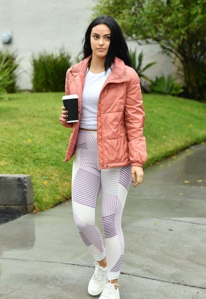 Camila Mendes – Out and about in Vancouver