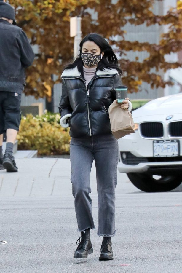 Camila Mendes - Out for a coffee run in Vancouver