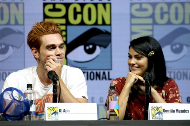 Camila Mendes – 'Riverdale' Panel at 2018 Comic-Con in San Diego