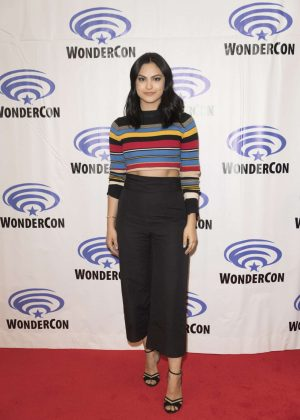 Camila Mendes - 'Riverdale' Press Room at WonderCon in Anaheim