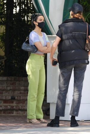 Camila Mendes - Spotted while leaving a meeting in Beverly Hills