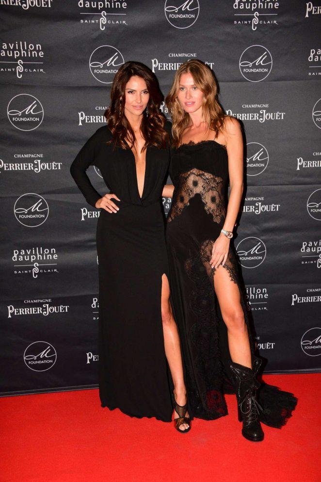 Camila Morais and Olga Kent – M Foundation Gala Dinner in Paris