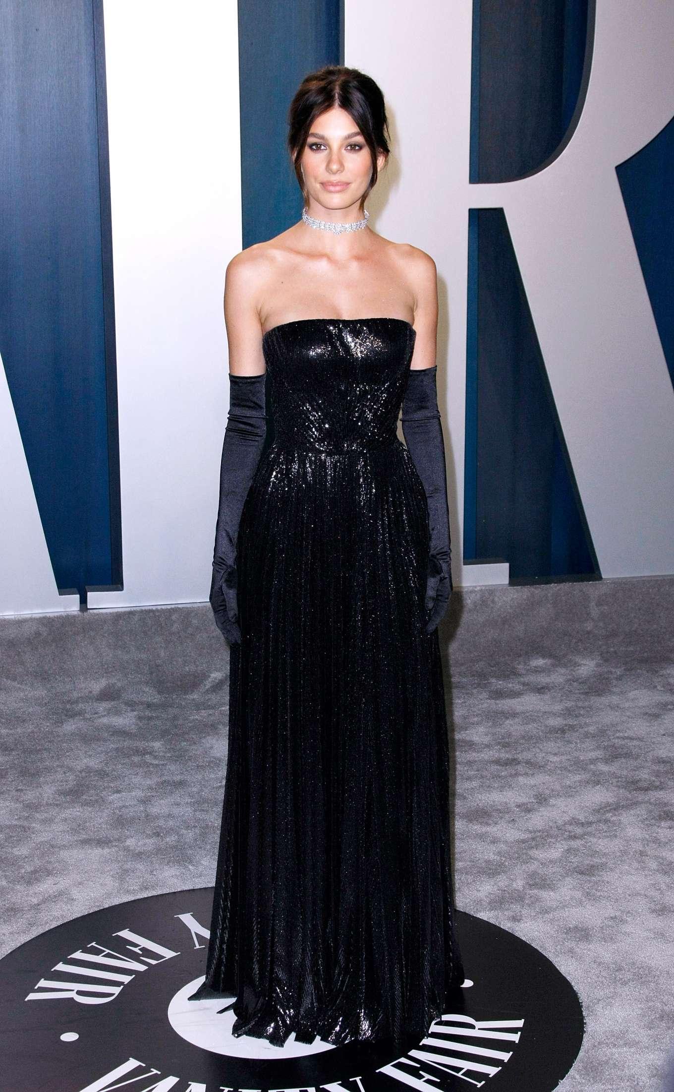 Camila Morrone - 2020 Vanity Fair Oscar Party in Beverly Hills