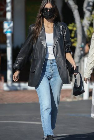 Camila Morrone and her mother - Seen at Mauro's cafe in West Hollywood