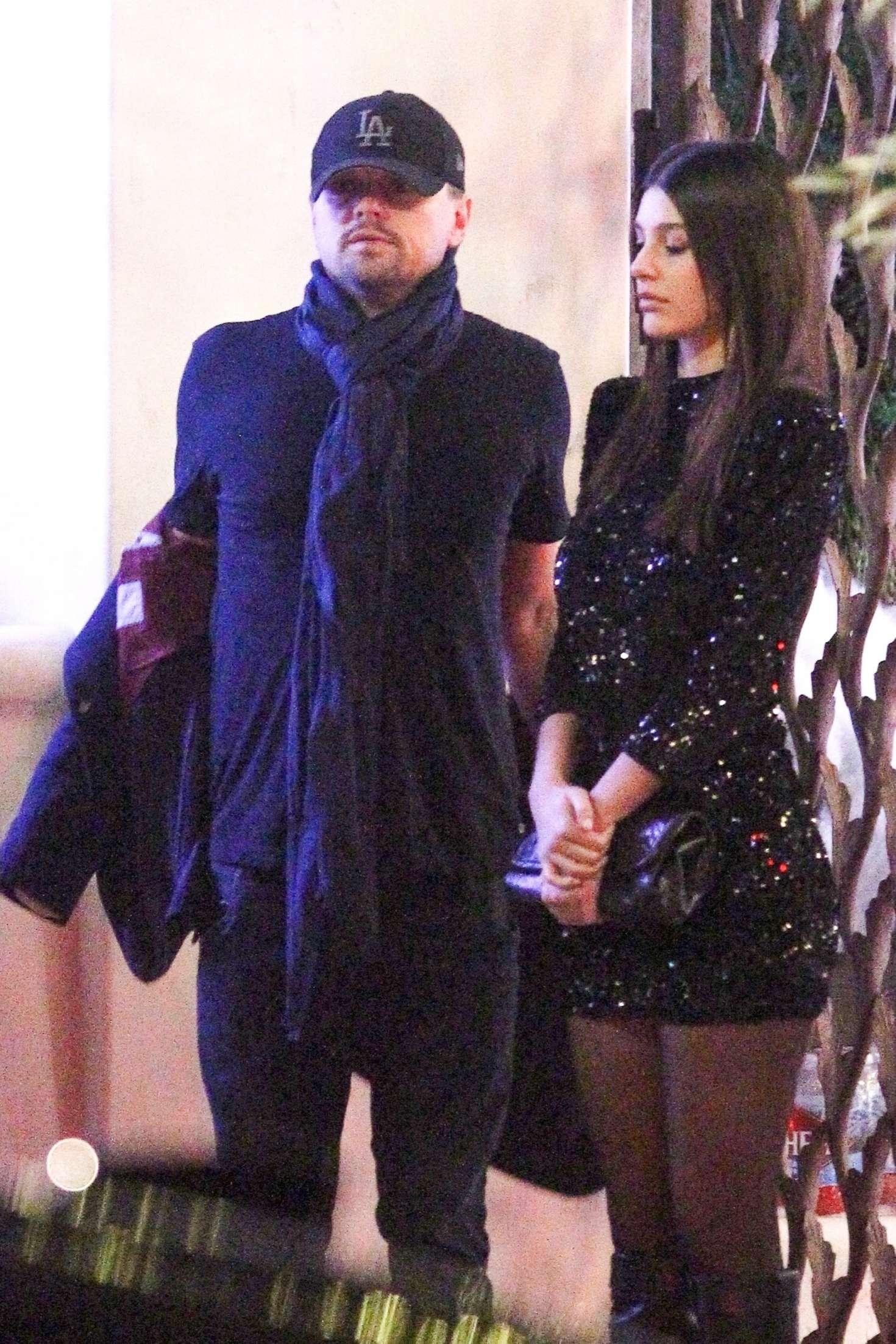 Camila Morrone And Leonardo Dicaprio Night Out In