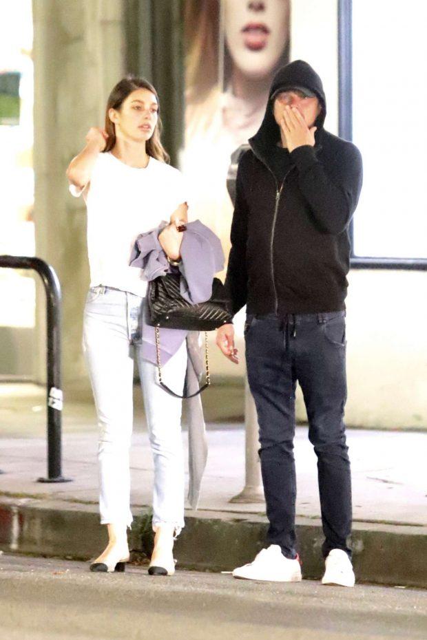 Camila Morrone and Leonardo DiCaprio - Night out in Los Feliz