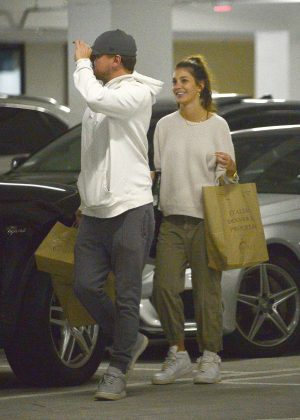 Camila Morrone and Leonardo DiCaprio - Out in Century City