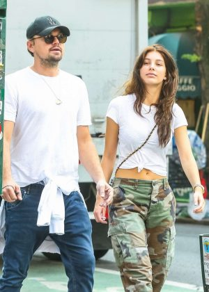 Camila Morrone and Leonardo DiCaprio out in New York