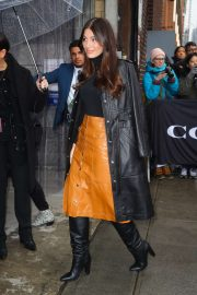 Camila Morrone - Arrives at the Coach Fashion Show 2020 in New York