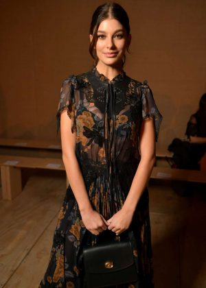 Camila Morrone - Coach Fashion Show in NYC