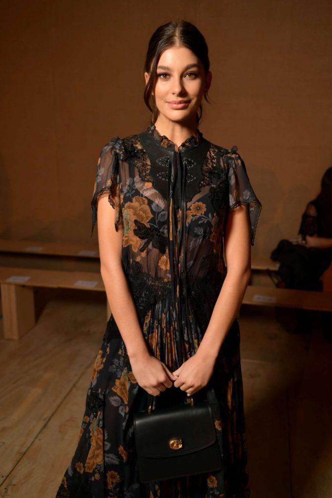 Camila Morrone – Coach Fashion Show in NYC