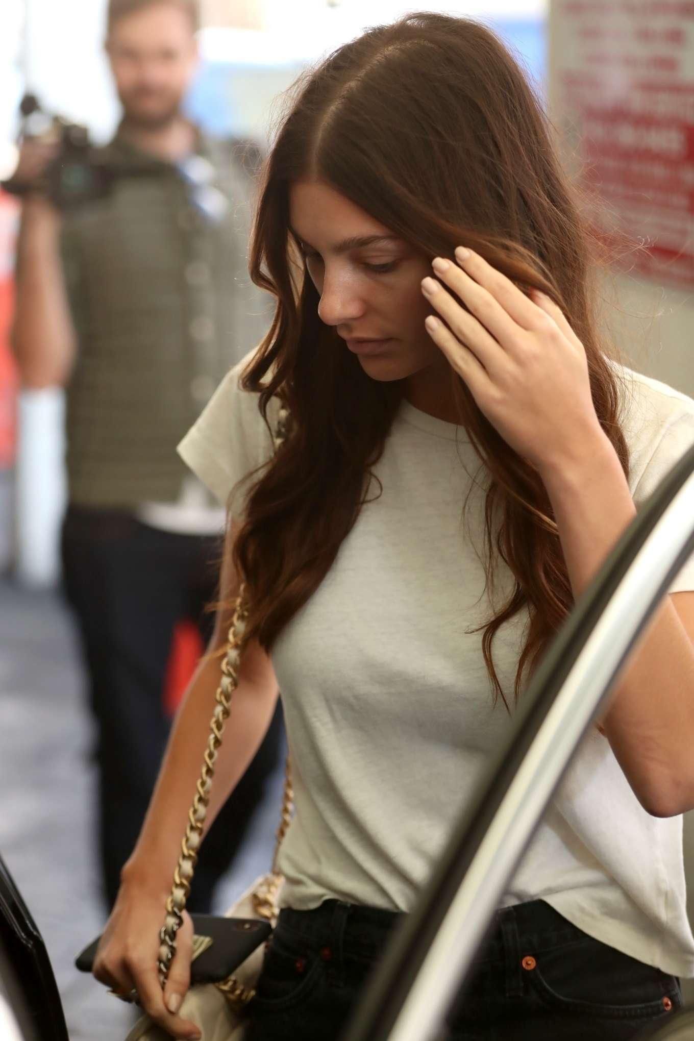 Camila Morrone - Leaves E Baldi in Los Angeles