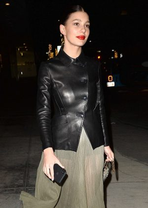 Camila Morrone - Leaves Madeos in West Hollywood