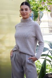 Camila Morrone - Lola Casademunt Photocall at Barcelona Fashion Week in Barcelona