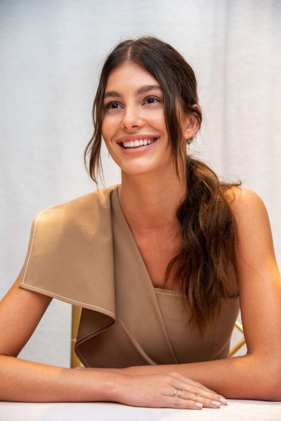 Camila Morrone - 'Mickey And The Bear' Press Conference in Beverly Hills