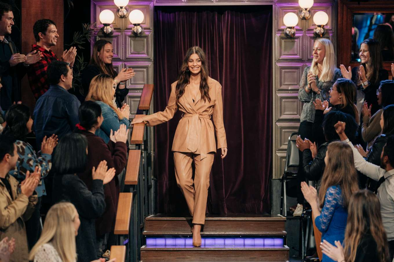 Camila Morrone - On 'The Late Late Show With James Corden' in LA