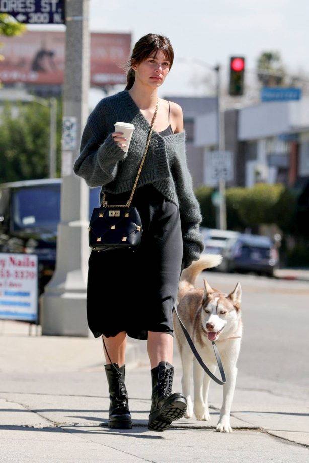 Camila Morrone - out for coffee in West Hollywood