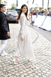 Camila Morrone - Outside Hotel Martinez in Cannes