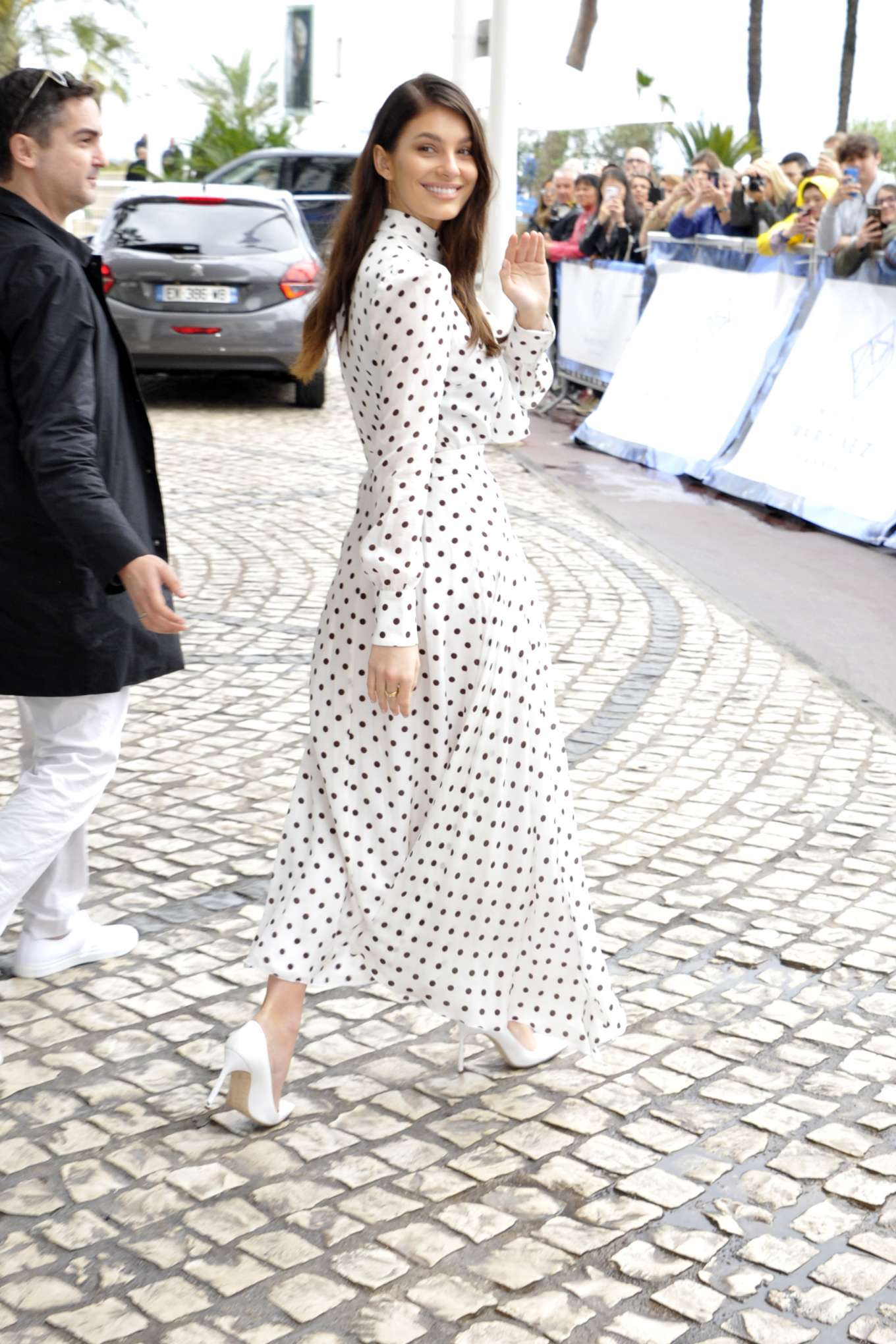 Camila Morrone - Outside Hotel Martinez in Cannes