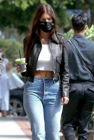 Camila Morrone - Shopping on Melrose place in West Hollywood